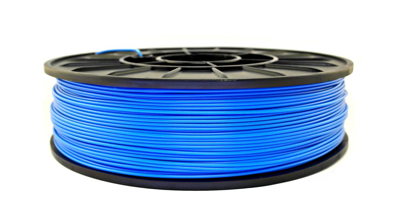 Нить ABS Premium (АБС) пластик для 3D принтера, Светло-синий (1.75 мм/0.75 кг)