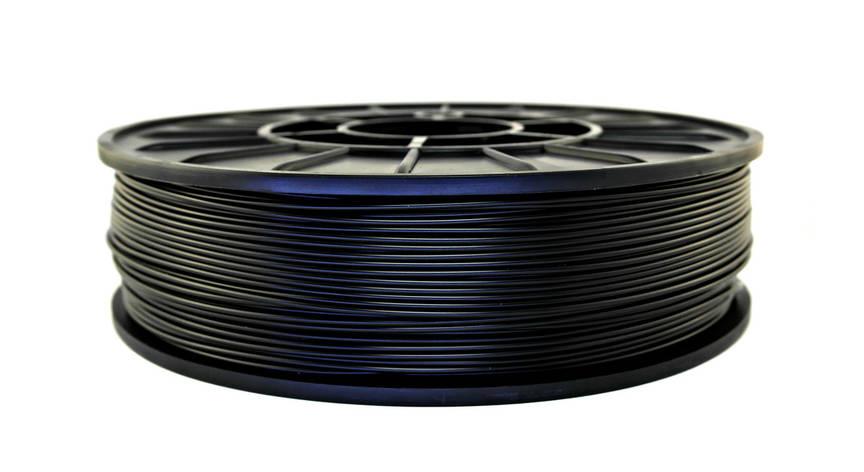 Нить ABS Premium (АБС) пластик для 3D принтера, Черный (1.75 мм/0.75 кг), фото 2