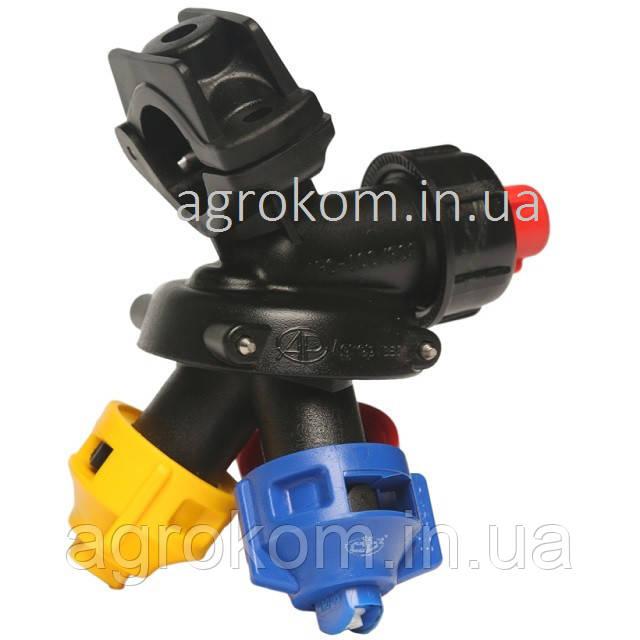 Форсунка тройная AP0-100/G09 на трубу 20 мм (Standard Arag) PRO LINE Agroplast