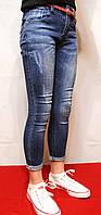 Модні, стильні і весняні джинси для дівчаток від 4 до 12 років (104-152см.) Фирма-Niebieski. Польща., фото 1