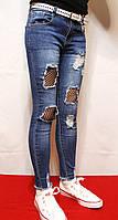 Новинка модные, стильные весенние джинсы для девочек от 9 до 14 лет (128-158см.) Фирма-Niebieski. Польша.