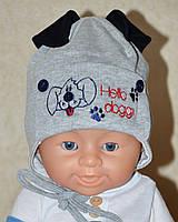 Демисезонная шапка для мальчика Бэри, 38, 40, 42, 44, размер, Климани