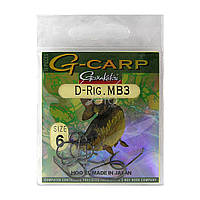 Крючки Gamakatsu G-Carp A-1 D-Rig MB3 Black № 06 (10 шт)