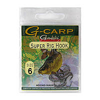 Крючки Gamakatsu G-Carp Super Rig Hook Black № 06 (10 шт)