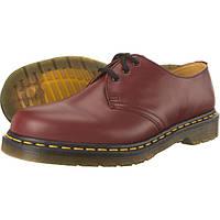 Туфлі Dr. Martens 1461 Cherry Red вишневі мартенси, Bordo мартенс, мартіна DR. MARTENS 1461 CHERRY(DM10085600)