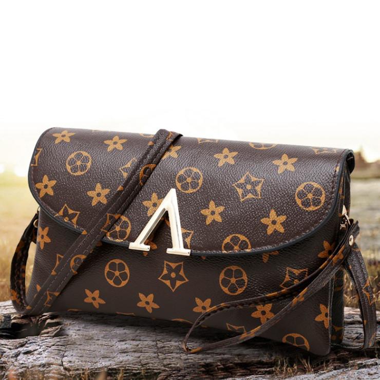 Модный женский клатч сумка в стиле Луи Витон - Интернет-магазин