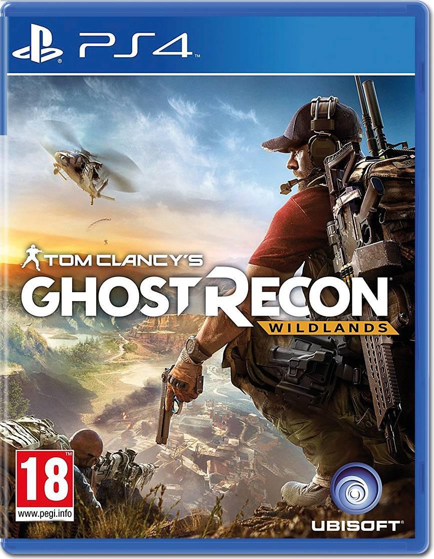 Игра PS4 Tom Clancy's Ghost Recon: Wildlands для PlayStation 4