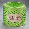 Трикотажная пряжа Bobilon Mini (5-7мм). Фисташковый