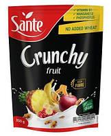 Кранчи (мюсли) Crunchy Fruit ( тропические фрукты) Польша 350г