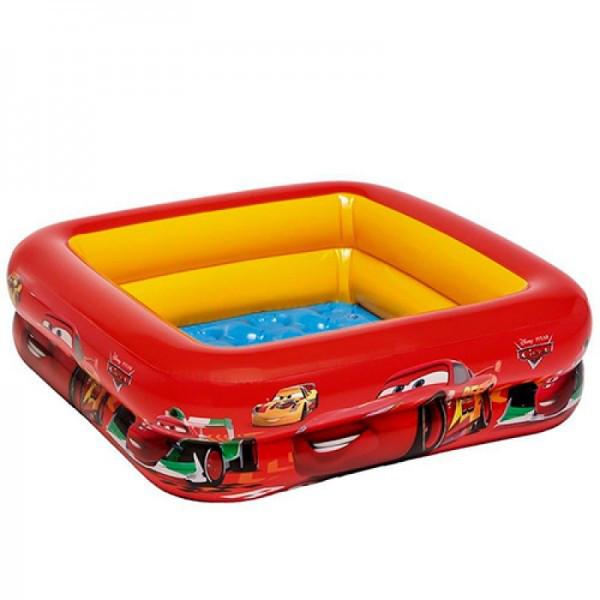 Детский надувной бассейн Intex Тачки 85х85х23 см