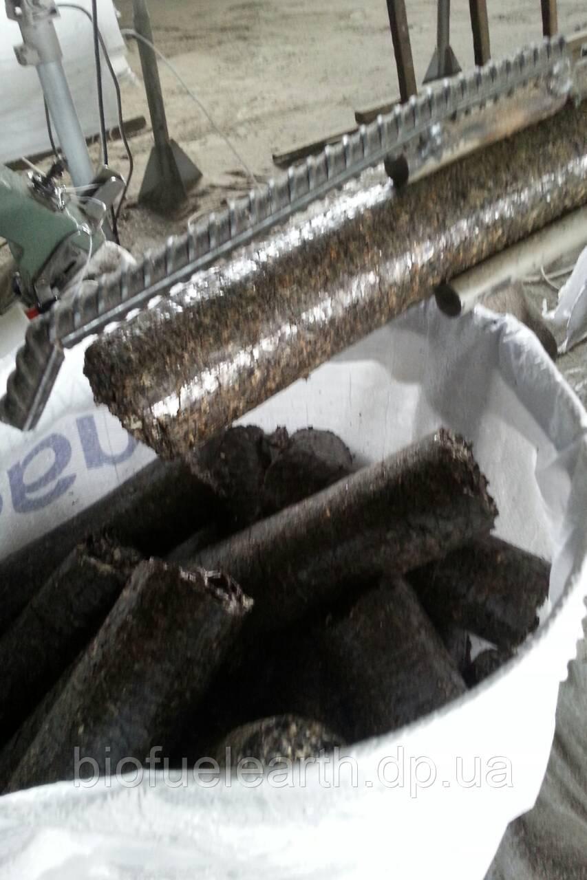 Топливные брикеты из лузги подсолнечника, брикет,топливные брикеты