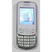 Китайская копия Nokia 6303 (2 sim) металлический корпус кнопочный бюджетный телефон недорого дешево!