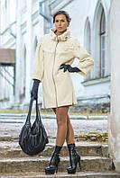 Пальто жіноче дизайнерське Дасса
