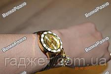 Стильные женские часы Kim Seng с подвеской в виде лебедя с черным ремешком., фото 3