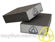 Шліфувальний брусок №80 Klingspor SK500, губка 98х68х25мм/ 271070