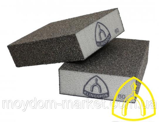 Шліфувальний брусок №180 Klingspor SK500B, губка 98х68х25мм/ 271073