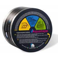 Стрічка герметизуюча AQUATAPE 0,1х10м Alu бутилкаучукова самоклеюча Срібляста Aqua Protect /62713