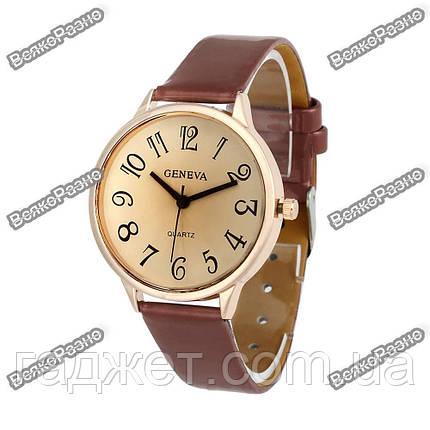 Женские часы Geneva( Baisdn) коричневого цвета, фото 2