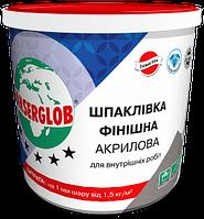 Шпаклевка финишная акриловая ANSERGLOB для внутренних работ (супербелая готовая) (30кг)