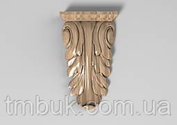 Кронштейн деревянный 2 - 60х105 мм