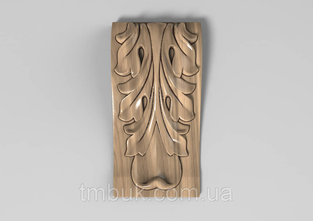 Кронштейн деревянный 9 - 60х120 мм