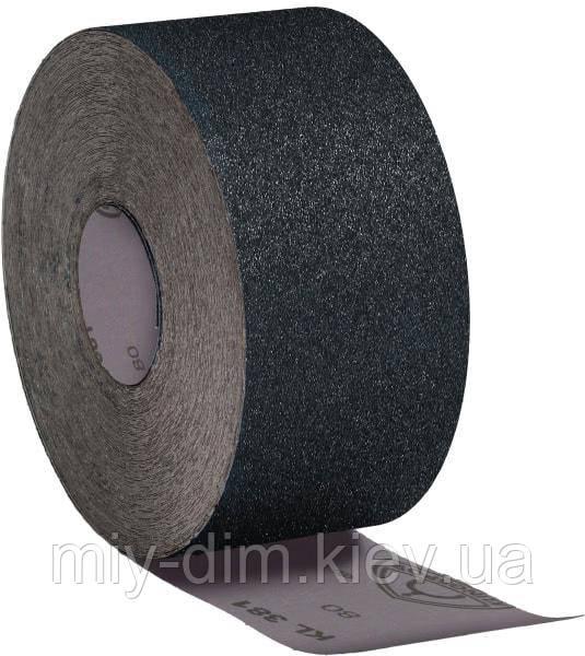 Рулон наждачний на тканевій основі №120 Klingspor KL381J, 200ммх50м/ 266330