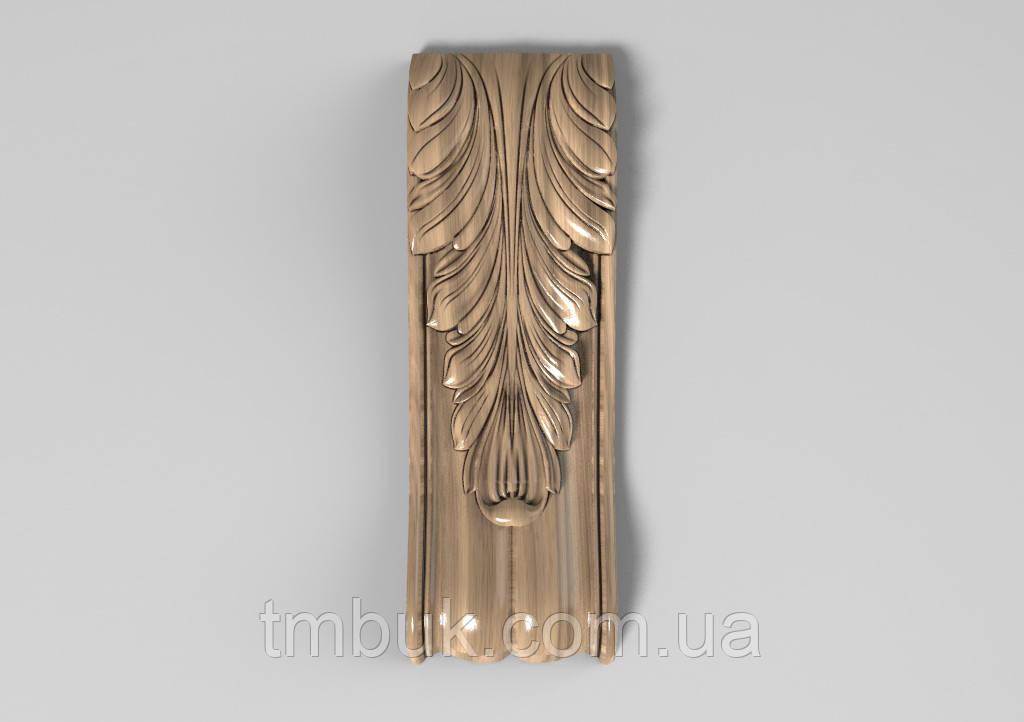Кронштейн деревянный 11 - 60х180 мм