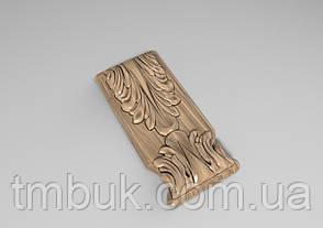 Кронштейн деревянный 12 - 60х130 мм, фото 2