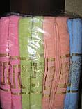 Рушник махровий банний Versace 70 х 140 див. різні кольори, фото 2