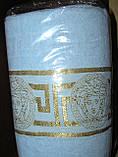 Рушник махровий банний Versace 70 х 140 див. різні кольори, фото 3