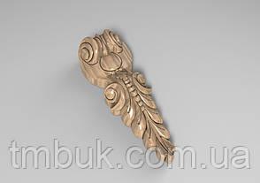 Кронштейн деревянный 20 - 160х60 мм, фото 2