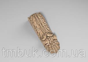 Кронштейн деревянный 27 - 60х200 мм, фото 2