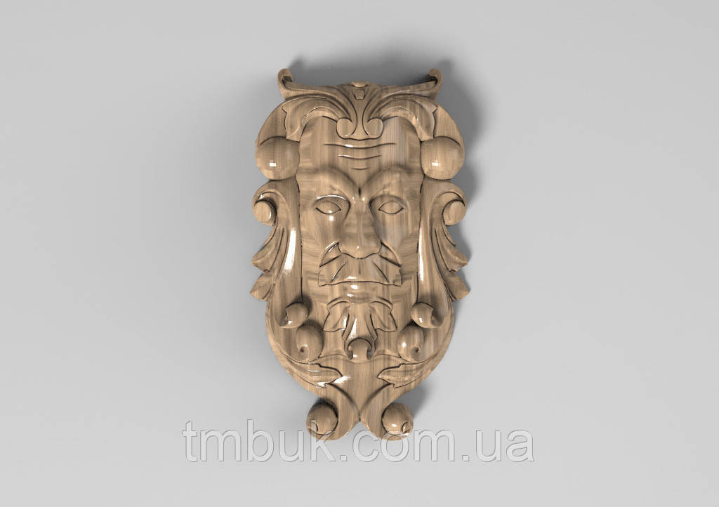 Кронштейн деревянный 30 - 100х165 мм