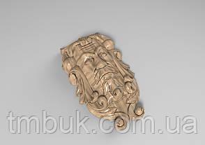 Кронштейн деревянный 30 - 100х165 мм, фото 2