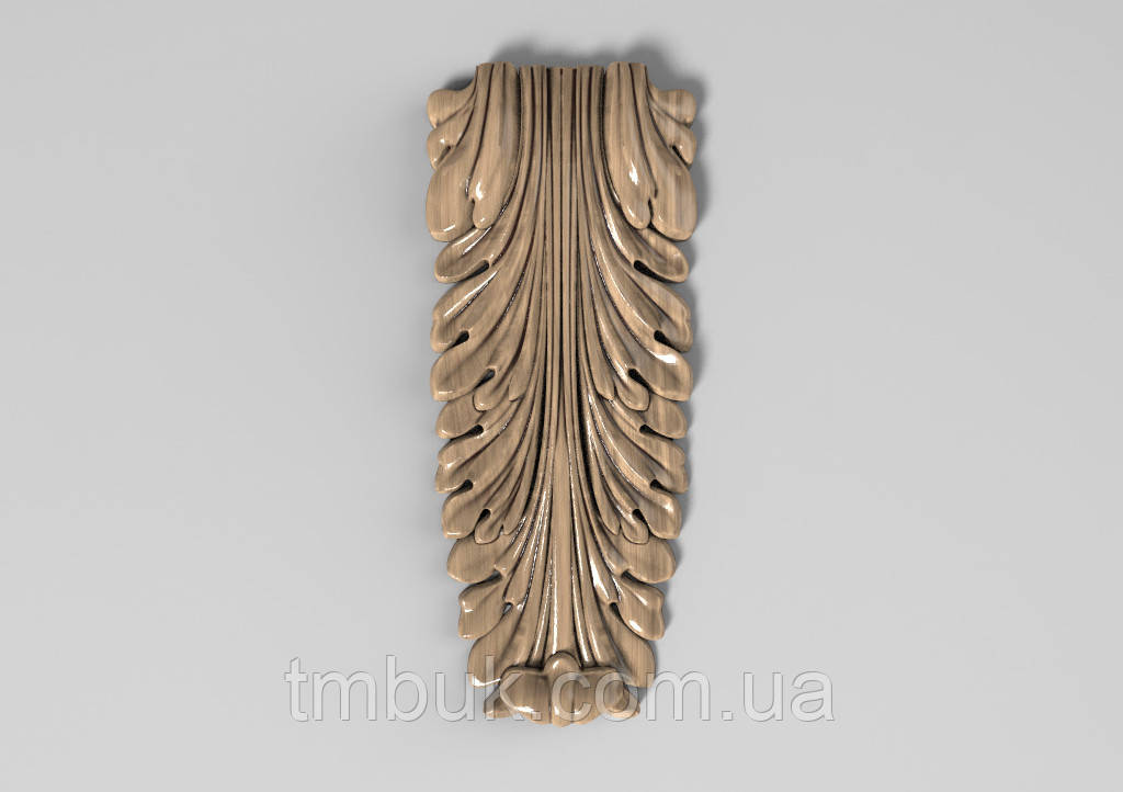 Кронштейн дерев'яний 32 - 60х145 мм
