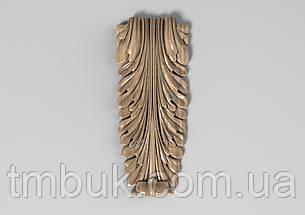 Кронштейн дерев'яний 32 - 60х145 мм, фото 2