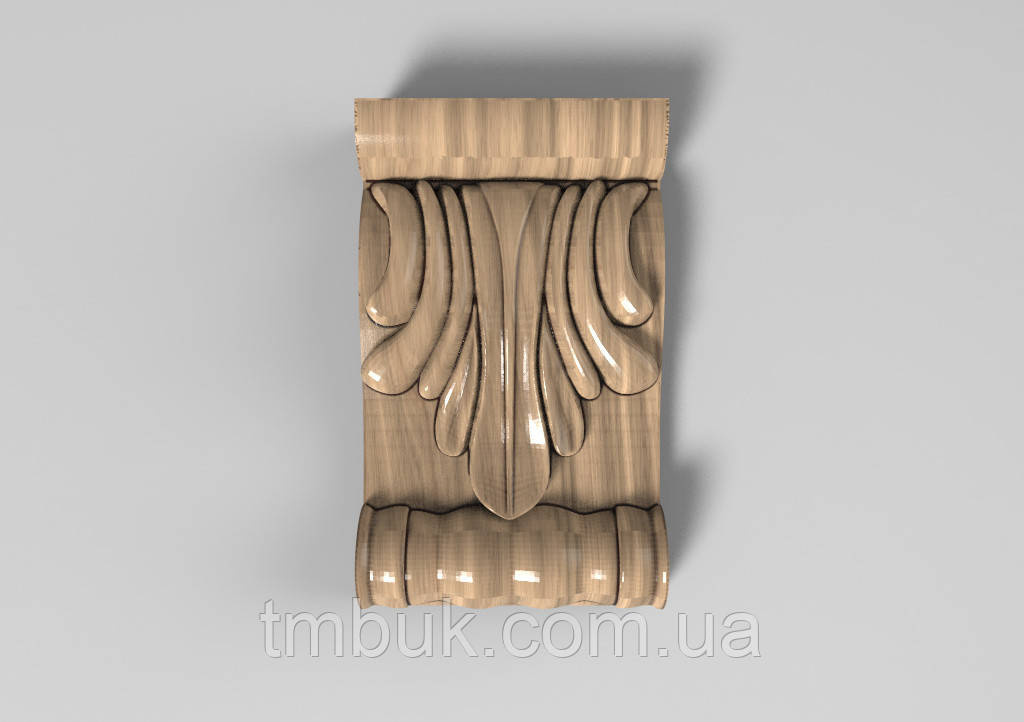 Кронштейн деревянный 35 - 60х100 мм