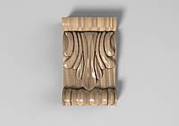 Кронштейн деревянный 35 - 60х100 мм, фото 1