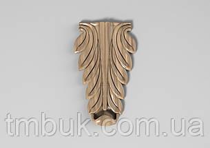 Кронштейн деревянный 37 - 60х100 мм, фото 2