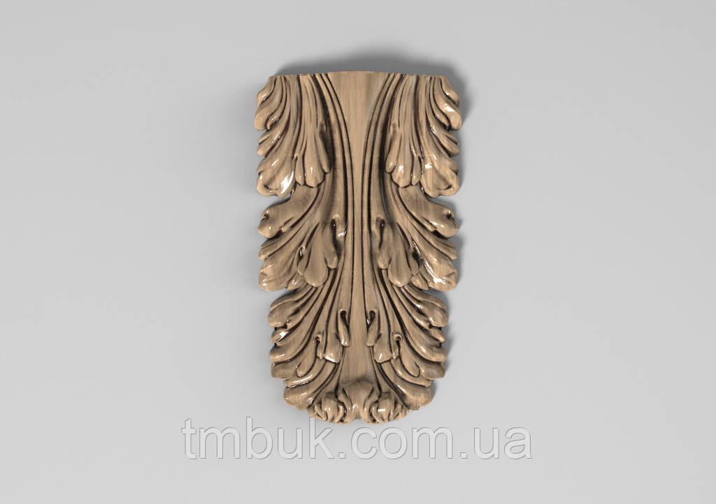 Кронштейн деревянный 38 - 60х100 мм