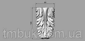 Кронштейн деревянный 38 - 60х100 мм, фото 2