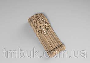 Кронштейн деревянный 39 - 60х170 мм, фото 2