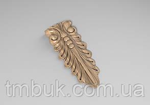 Кронштейн деревянный 40 - 60х145 мм, фото 2
