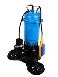 Насос чугунный  для чистой и грязной воды с измельчителем и поплавком 1500W