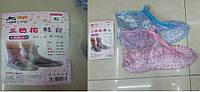 Дождевики-мокроступы 2 вида,размер XL (39-40) в п/э /100/