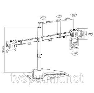 Настільне кріплення для монітора iTech MBS-21M, фото 2