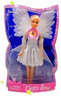 Детская кукла Ангел + светящиеся крылья Кукла DEFA 8219