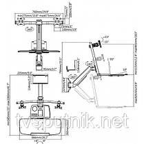 Настільне кріплення для монітора ITECHmount DWS02-W02, фото 3