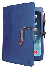 Кожаный защитный чехол Promate Agenda-mini Blue