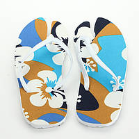 Тапки вьетнамки Лапа цвет Цветок (38 р.) + сидушка / Вьетнамки пляжные/ Пляжные шлепанцы / опт